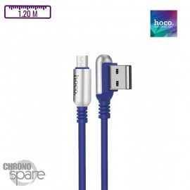 Cable Micro USB Hoco U17 Bleu