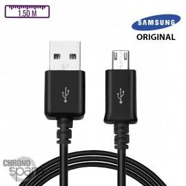 Câble samsung original 1,5m Micro USB - Noir