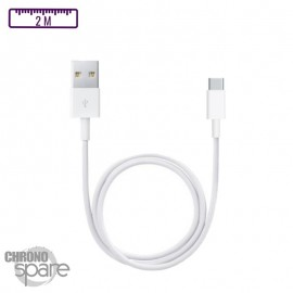 Câble de charge compatible Type C - Premium 2m BULK