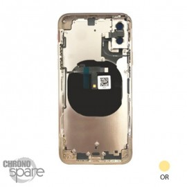 Chassis iphone XS or - sans nappes