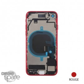 Chassis iPhone 8 Rouge - avec nappes