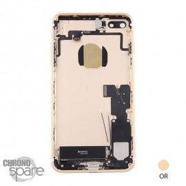 Châssis arrière iPhone 7 Plus Or - avec nappes