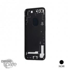 Chassis arrière iPhone 7 Plus Noir de Jais - sans nappes