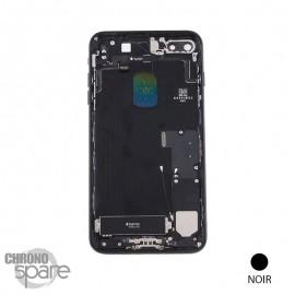Châssis arrière iPhone 7 Plus Noir - avec nappes