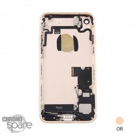 Châssis arrière iPhone 7 Or - avec nappes