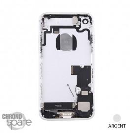 Châssis arrière iPhone 7 Argent - avec nappes
