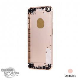 Chassis arrière iPhone 6S plus Rose or - sans nappes