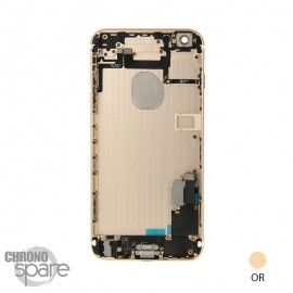Chassis arrière iPhone 6S Plus Or - avec nappes