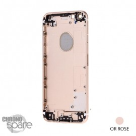 Coque arrière iPhone 6S Or Rose
