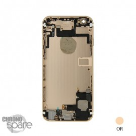 Chassis arrière iPhone 6 Or - avec nappes