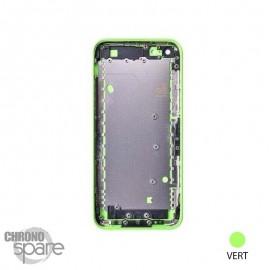 Coque arrière sans nappe, avec support carte SIM, iPhone 5C Vert