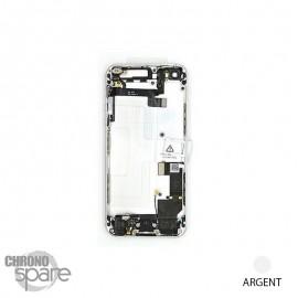 Chassis arrière iPhone SE Argent - avec nappes