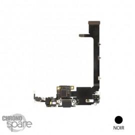 Nappe connecteur de charge iphone 11 pro max noire