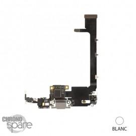 Nappe connecteur de charge iphone 11 pro max blanche