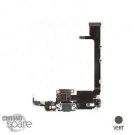 Nappe connecteur de charge iphone 11 pro max verte