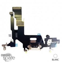 Nappe connecteur de charge iPhone 11 Noire