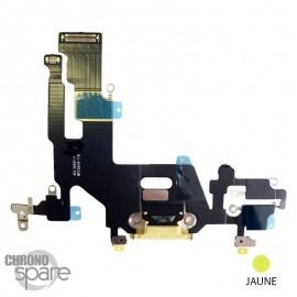 Nappe connecteur de charge iPhone 11 Blanche