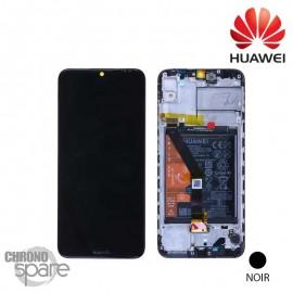Ecran LCD + vitre tactile + Batterie Huawei Y6 2019 - Noir (officiel)