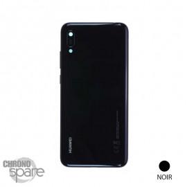 Vitre arrière + vitre caméra Noire Huawei Y6 2019