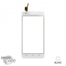 Vitre Tactile blanche Huawei G620s