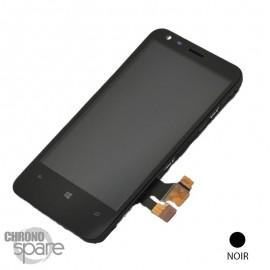 Vitre tactile et écran LCD Nokia Lumia 620 Noir