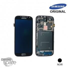 Vitre tactile et ecran LCD Samsung Galaxy S4 i9506 Gris/Noir (Officiel)
