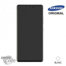 Vitre tactile et écran LCD Samsung Galaxy S10 Lite SM-G770F (officiel) Blanc