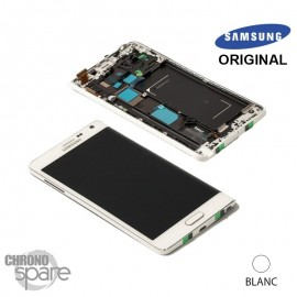 Ecran LCD + Vitre tactile Blanche Samsung Galaxy Note Edge (officiel) GH97-16636B