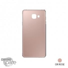 Vitre arrière Or Rose Samsung Galaxy A7 A710F
