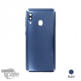 Vitre arrière Bleue Samsung Galaxy A20e (A202F)