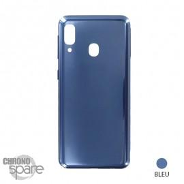 Vitre arrière Bleue Samsung Galaxy A20