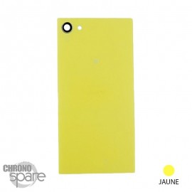 Vitre arrière jaune pour Z5 Compact