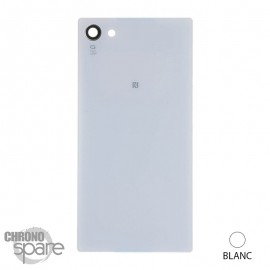 Vitre arrière Blanche Sony Xperia Z5 Compact mate