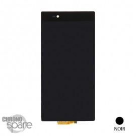 Bloc vitre tactile + LCD Noir Xperia Z ultra