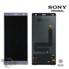 Ecran LCD + vitre tactile Rose Sony Xperia XZ2 (officiel)