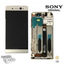 Ecran LCD + Vitre tactile Or Sony Xperia XA Ultra Dual F3211/F3212/F3215/F3216 (officiel) A/8CS-59290-0004