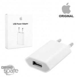 Chargeur secteur Apple original usb 5V 1 A - Blanc - avec boite