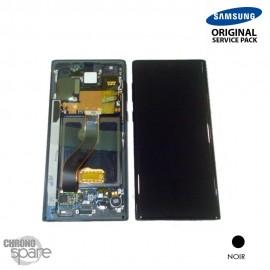 Vitre tactile et écran LCD Samsung Galaxy Note 10 Plus SM-N975 (officiel) Noir