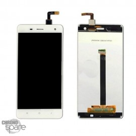 Ecran LCD + Vitre Tactile blanche + Chassis Xiaomi Mi4