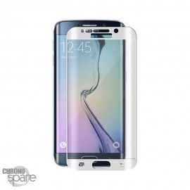 Vitre de protection incurvée Samsung Galaxy S7 Edge Blanche