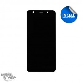 Ecran LCD + Vitre Tactile Noir Samsung Galaxy A8 2018 A530F (INCELL)