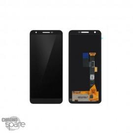 Bloc LCD complet avec chassis pour le Google Pixel 3A