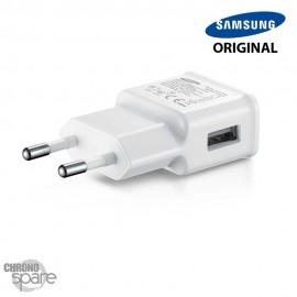Chargeur secteur Samsung original usb 5V 2 A - Blanc