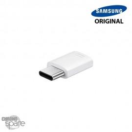 Adaptateur Micro Usb vers Type-C Blanc (EE-GN930)