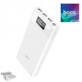 Power bank 30 000 mAH indicateur triple USB-Noir-HOCO B35E