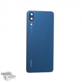 Vitre arrière Huawei P20 bleu (officiel)