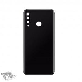 Vitre arrière + lentille caméra Noire Huawei P30 Lite 48mp