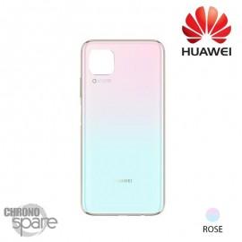 Vitre arrière Rose Huawei P40 Lite (Officiel)