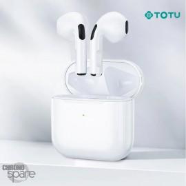 Ecouteurs sans fil Airbuds TWS 5,0 TOTU