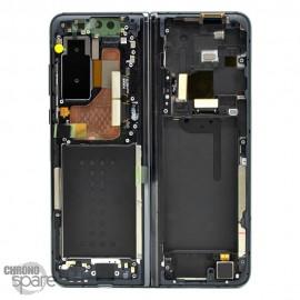 Ecran LCD + Vitre Tactile + châssis noir Samsung Galaxy Fold F900 (officiel)